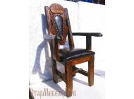 Именное кресло под старину