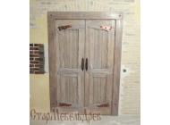 """Дверь  под  старину  """"Славянка"""""""