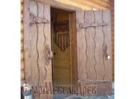 """Дверь  под  старину  """"Ярослава"""""""