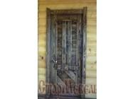 Дверь  под  старину  №32
