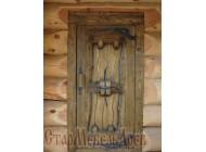 Дверь  под  старину  №34