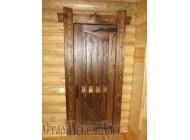 Дверь  под  старину  №38