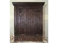 Дверь  под  старину   №55