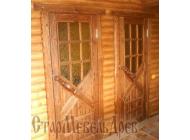 Дверь  под  старину   №59