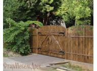 Ворота под старину  №1