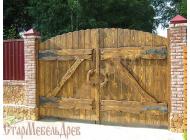 Ворота под старину  №2