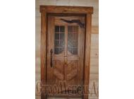 Двери  под  старину  №65