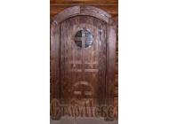 Двери  под  старину  №66