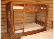 Кровать двух-ярусная №1