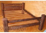 Кровать под старину №4