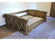 Кровать под старину №5