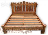 Кровать под старину №8
