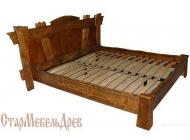 Кровать под старину №12